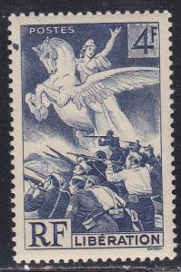 France # 503, Liberation, NH Set