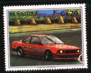 PARAGUAY 1987 ,CAR BMW Mi 4093,MNH