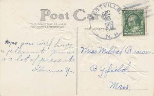 United States New Hampshire Westville 1910 4a-bar  1887-1980  PC.
