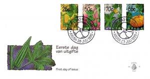 Aruba, Worldwide First Day Cover, Plants