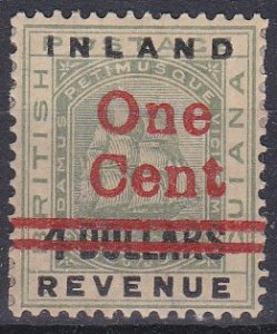 British Guiana Sc #151 Mint Hinged; Mi #97I