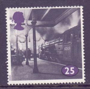 GB Scott 1534 - SG1796, 1994 Steam Railways 25p used