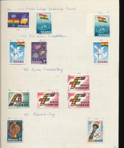 South Africa Ghana 1950s/60s Wildlife Flowers Soccer M&U 130+ AU9368