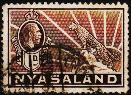 Nyasaland. 1934 1d S.G.115 Fine Used