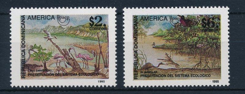 [29654] Dominican Republic 1995 Birds Ecological System UPAEP MNH
