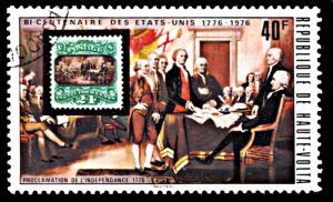 Upper Volta 353, CTO, United States Bicentennial