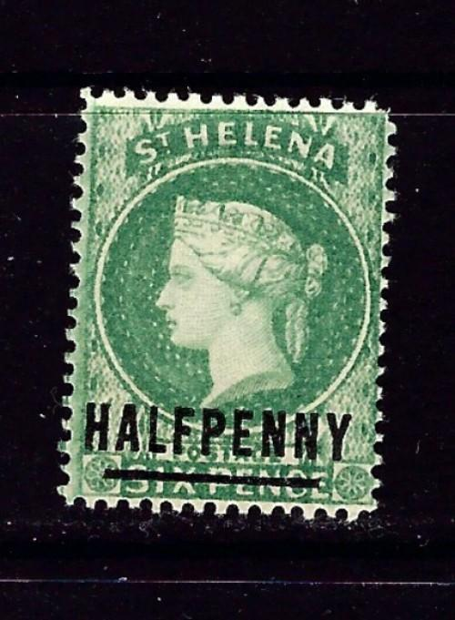 St Helena 33 Hinged 1884 issue
