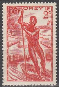 Dahomey #113 F-VF Unused (S9304)