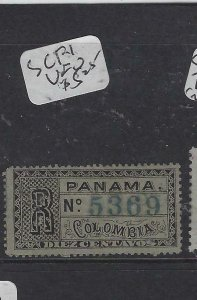 PANAMA   (P1305B)  REGISTER  SC F1   VFU