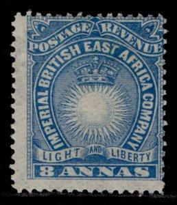 BRITISH EAST AFRICA QV SG12, 8a blue, M MINT.