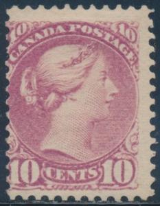 CANADA #40 FINE OG LH CV $1,600 BU2237