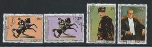 GUINEA SC# 828-30 & C153 F-VF/CTO 1982