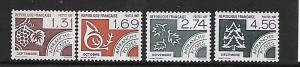 FRANCE, 1961-1964, MNH, MONTH OF THE YEAR