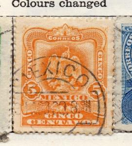 Mexico 1903 Early Issue Fine Used 5c. 006285