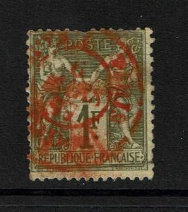 France SC# 76, Used, Red Cancel -  Lot 081317