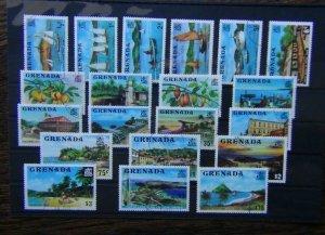 Grenada 1975 set to $10 Fine Used SG649 - SG668