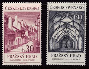 Czech Republic (Czechoslovakia) 1967 Prague Castle & St. Mathew Manuscript F/VF