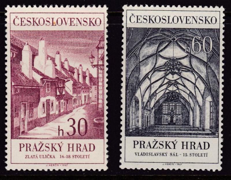 Czech Republic (Czechoslovakia) 1967 Prague Castle & St. Mathew Manuscript F/VF
