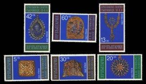 Bulgaria Scott 3175-3180 Mint never hinged.