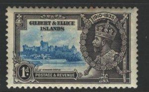 Gilbert and Ellice Islands Sc#33 MNH - couple tone spots