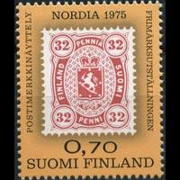 FINLAND 1975 - Scott# 571 Phil.Exhib. Set of 1 NH