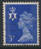 Great Britain Northern Ireland SG NI13 SC# NIMH2  Machin 3p Used  see scan