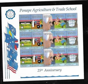 MICRONESIA, 116-120 ,MNH, PONAPE AGRICULTURE AND TRADE SCHOOL