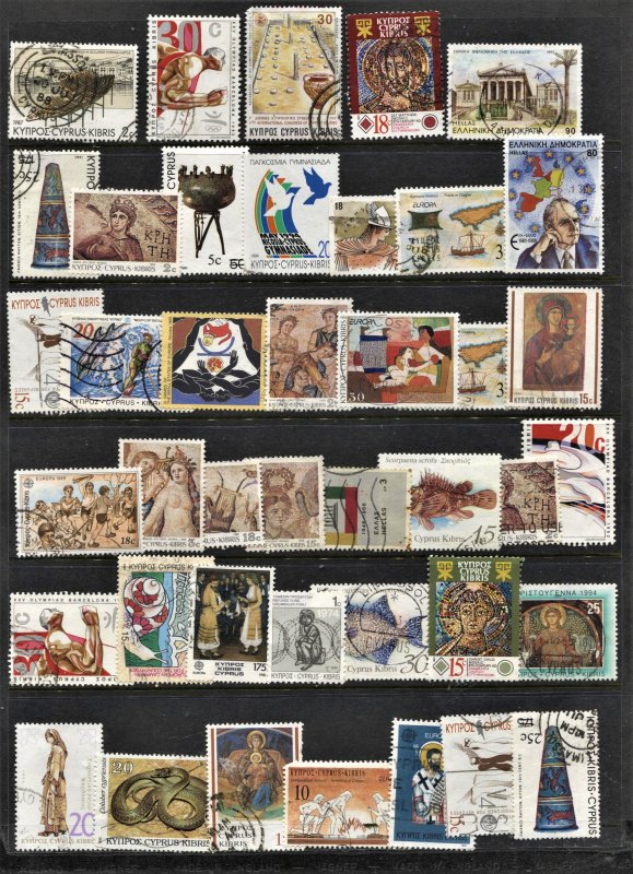 STAMP STATION PERTH Cyprus #41 Mint /  Used Selection - Unchecked
