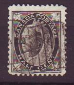 J18627 JLstamps 1898 Canada used #74 queen
