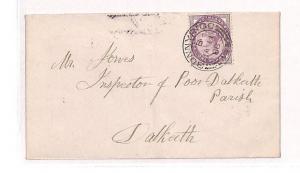 BB58 1888 GB Scotland Bonnyrigg Dalkeith Cover {samwells-covers}PTS