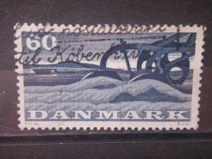 DENMARK, 1960, used 60o, Scott 373