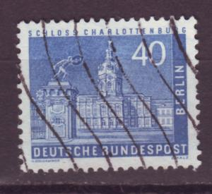 J17517 JLstamps 1956-63 germany berlin occup,t part of set used #9n131 town