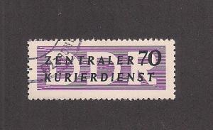 GERMANY - DDR SC# O36 F-VF U 1956