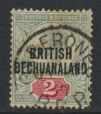 Bechuanaland  SG 34 Used
