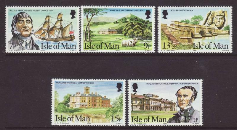 1980 Isle of Man Set U/Mint SG183/187