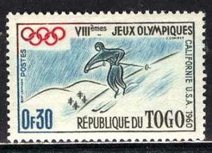 Togo; 1960: Sc. # 369; */MH Single Stamp