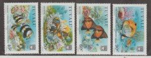 Tuvalu Scott #524-527 Stamps - Mint NH Set