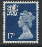 Great Britain Wales  SG W45 SC# WMMH31 Used  see details 1 center band offset