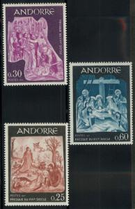 Andorra 178-180 Mint VF NH