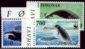 Faroe Islands SC#209-211 Mint VF SCV$10.50...Faroe Islands are Magical!