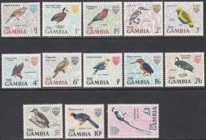 Gambia Sc #215-227 Mint Hinged