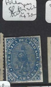 PARAGUAY  (P0203B)   LION SC 2  SL THIN  MNG