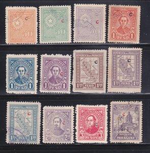 Paraguay L13, L16-L17, L19, L21-L25, L27, L29-L30 U Various