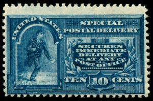 momen: US Stamps #E4 Mint OG NH F/VF