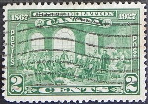 Canada, 2 cents, Confederation 1867-1927, (1599-Т)
