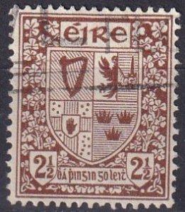 Ireland #110  F-VF Used CV $3.50 (S10097)