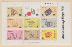 Lesotho Scott #740 Stamp - Mint NH Sheet