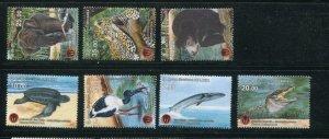 Sri Lanka MNH 1998-2004 Wildlife Birds Marine Life Reptiles