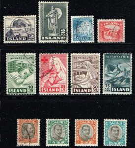 Iceland  MiniLOT 11 All Diff