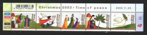 South Africa. 2003. 1524-28 from the series. Christmas. MNH.
